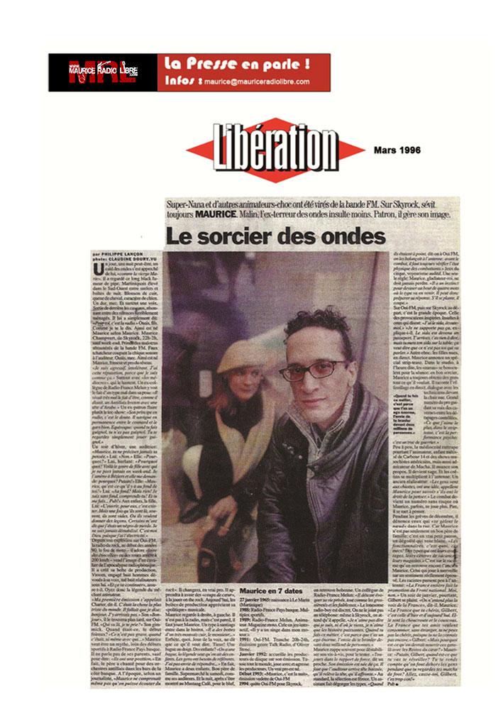 vignette Libération - Le Sorcier des ondes - Mars 1996