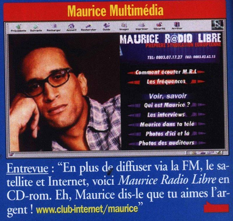 vignette Entrevue Maurice Multimédia