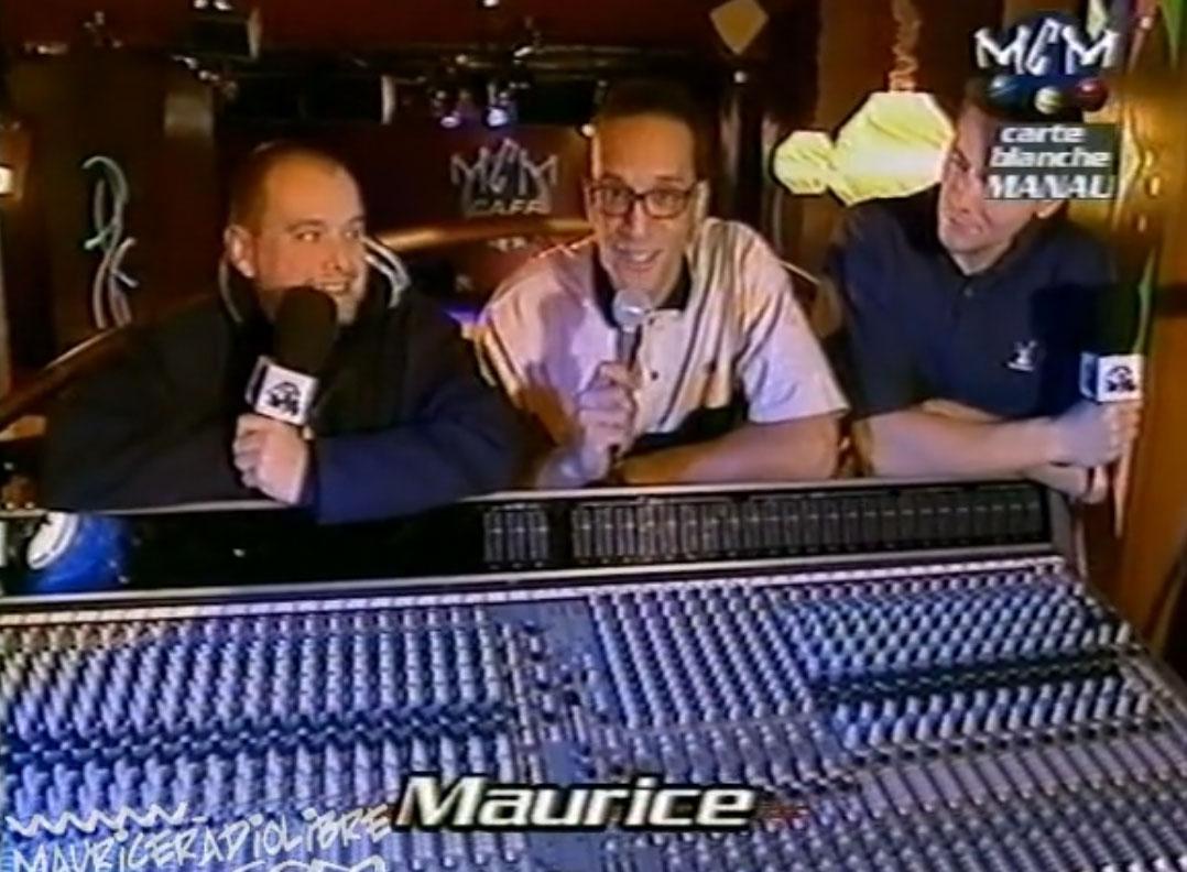 vignette Maurice Radio Libre - Maurice et Manau dans Rock Legend - 1998