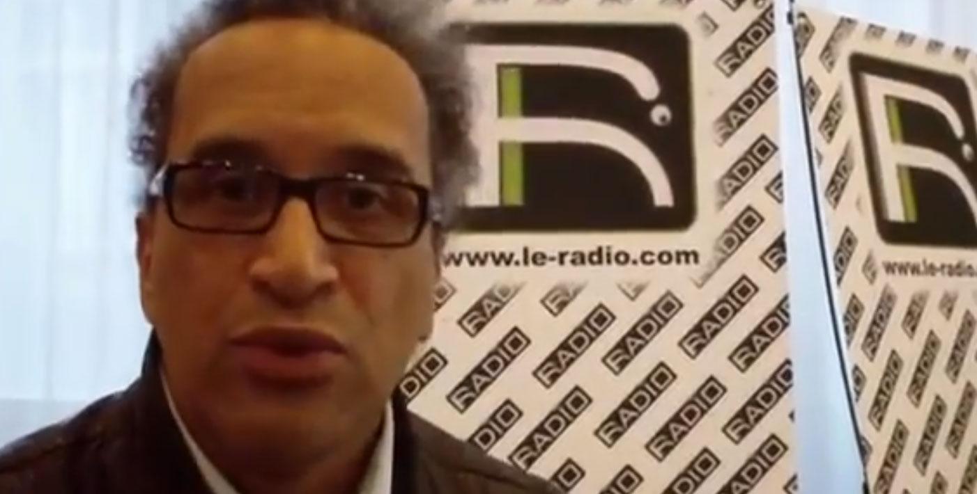 vignette Maurice au Salon LE RADIO - Février 2012